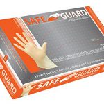 SAFEGUARD-Synthetic-Vinyl-Tan-Powder-Free-Exam-Gloves-0