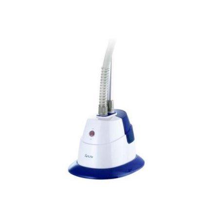 SALAV-GS06-DJ-Performance-Garment-Steamer-with-360-Degree-Swivel-Hanger-Dual-Insulated-Hose-1500W-Blue-0-0