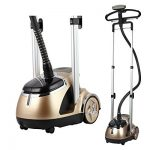 SALAV-Limited-Edition-Professional-Series-Dual-Bar-Garment-Steamer-with-Foot-Pedals-GS49-DJ-Gold-0-0