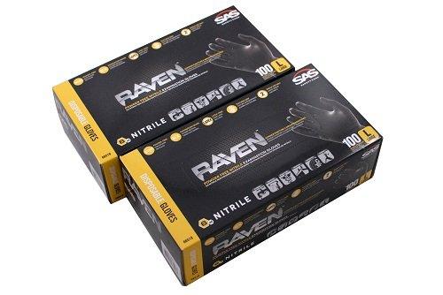 SAS-Raven-PF-Black-Nitrile-Gloves-CASE-10-BOXES-0-0