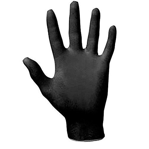 SAS-Safety-Disposable-Extra-Large-Black-Gloves-100-Gloves-each-Pack-Pack-of-10-0-1