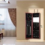 SHELVING-SOLUTIONS-WallDoor-Mount-Mirrored-Jewelry-Cabinet-Armoire-0-1