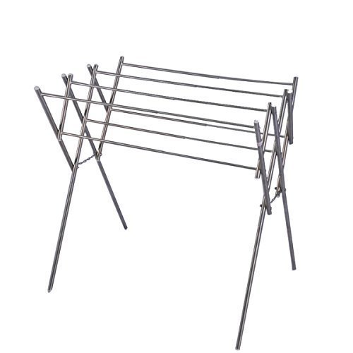 SOGES-Folding-and-Tension-Towel-Rack-Towel-Rail-Towel-Holder-Free-Stand-Stainless-Steel-Material-Rust-Proof-17-315L315H-inch-0-1