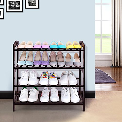 SONGMICS-100-Bamboo-4-Tier-Shoe-Rack-Entryway-Shoe-Shelf-Storage-Organizer-ULBS94Z-0-0
