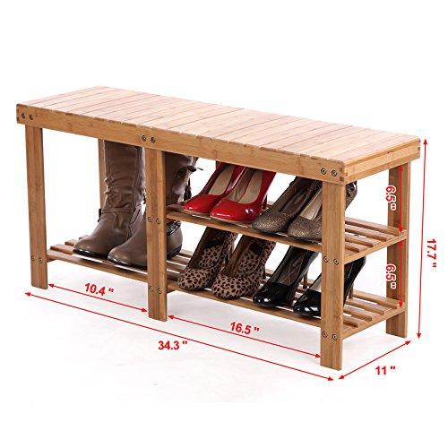 SONGMICS-2-tier-Shoe-Bench-Boot-Organizing-Rack-Entryway-Storage-Shelf-100-Bamboo-ULBS06N-0-1