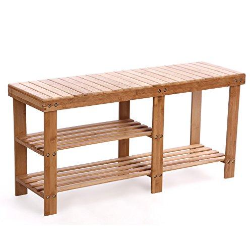 SONGMICS-2-tier-Shoe-Bench-Boot-Organizing-Rack-Entryway-Storage-Shelf-100-Bamboo-ULBS06N-0