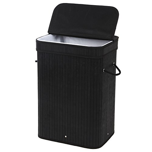 SONGMICS-Bamboo-Laundry-Hamper-Clothes-Storage-Basket-with-Removable-Lid-and-Liner-Rectangular-Black-ULCB10H-0