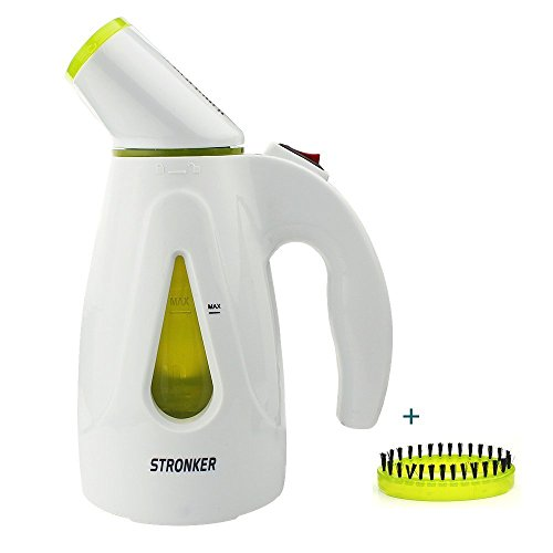 STRONKER-200ML-Handheld-Fabric-Steamer-850W-Clothes-Steamer-Portable-Home-Garment-Steamer-Mini-Travel-Clothes-Ironing-Steam-Cleaner-Powerful-Steamer-with-Fast-Heat-up-No-Water-Automatically-Shuts-Off-0-0
