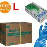 SUNNYCARE-8803-Nitrile-Disposable-Gloves-Powder-Free-Size-large-1000pcsCase-100pcsbox10boxescase-0