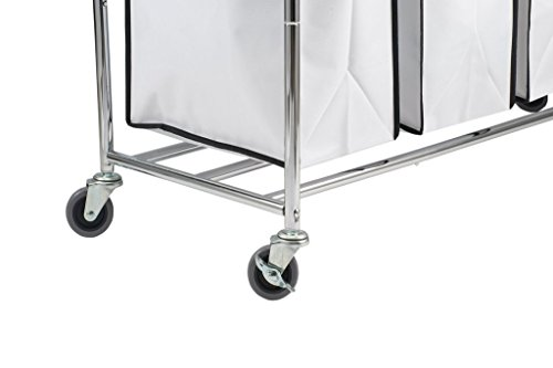 Saganizer-4-Bag-Laundry-Organizer-Chrome-White-0-1