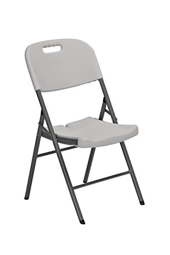 Sandusky-Lee-FPC182035-Resin-Folding-Chair-with-Molded-Seat-and-Back-White-Pack-of-4-0