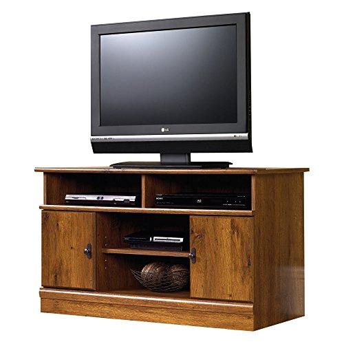 Sauder-Harvest-Mill-Panel-TV-Stand-Abbey-Oak-0