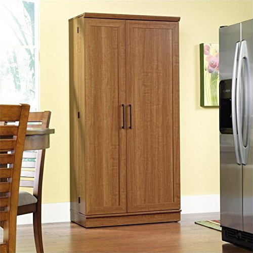 Sauder-Home-Plus-Storage-Cabinet-with-Sienna-Oak-Finish-0