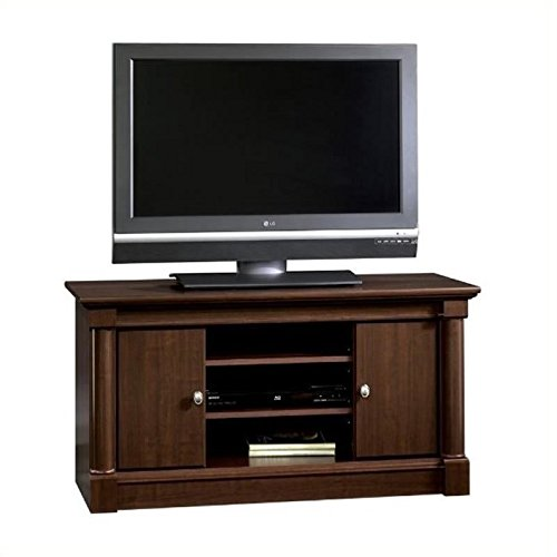 Sauder-Palladia-Panel-TV-Stand-Select-Cherry-Finish-0-1