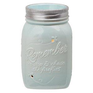 Scentsy-Warmer-Chasing-Fireflies-Mason-Jar-Light-Blue-Firefly-Full-size-Premium-Warmer-0