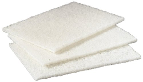 Scotch-Brite-98-Light-Duty-Cleansing-Pad-9-Length-x-6-Width-White-3-Boxes-of-20-0-1