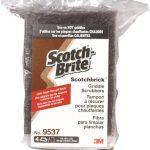 Scotch-Brite-Scotchbrick-Griddle-Scrubber-9537CC-4-x-6-x-3-3-Bags-of-4-0