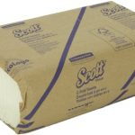 Scott-C-Fold-Paper-Towels-02920-with-100-Recycled-Fiber-RF-12-Packs-Case-200-C-Fold-Towels-Pack-0-0