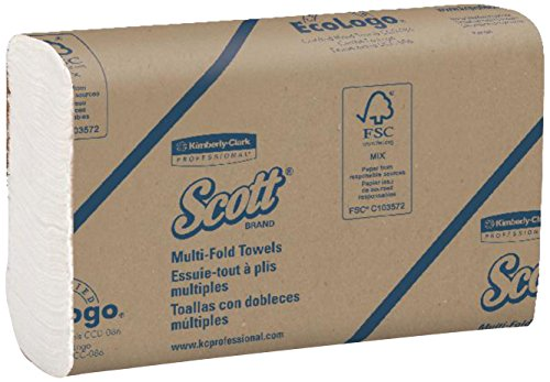 Scott-Multifold-Paper-Towels-03650-with-Fast-Drying-Absorbency-Pockets-White-12-packs-of-250-sheets-3000-per-case-0-0