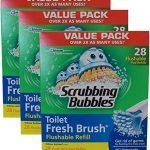 Scrubbing-Bubbles-Toilet-Fresh-Brush-Flushable-Refills-28-count-pack-of-3-0