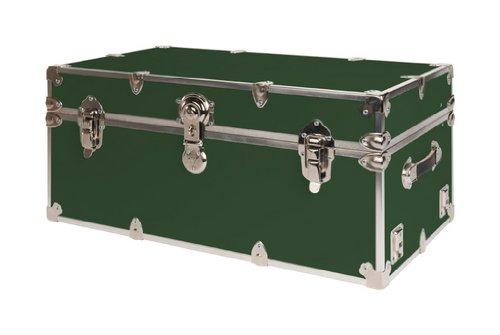 SecureOnCampus-College-Dorm-Storage-Trunks-Footlockers-Large-Forest-Green-0