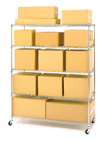 Seville-Classics-5-Shelf-Wire-Shelving-Rack-with-Wheels-24-x-60-x-72-Chrome-0-0