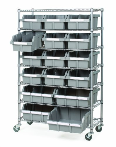 Seville-Classics-Commercial-7-Shelf-16-Bin-Rack-Storage-System-NSF-Certified-0