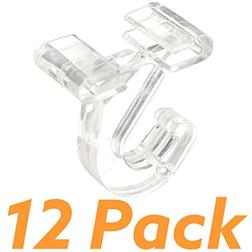 SharpTank-Clear-Hinged-Ceiling-Hook-Designed-for-use-in-Classrooms-and-Office-Settings-Holds-up-to-10-lbs-0
