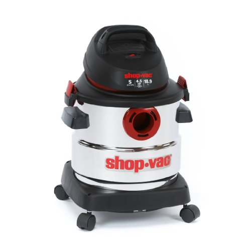Shop-Vac-5986000-5-Gallon-45-Peak-HP-Stainless-Steel-Wet-Dry-Vacuum-0