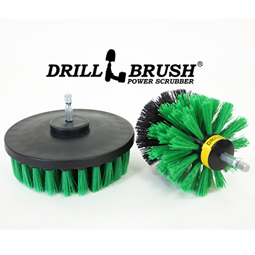 Shower-Tub-and-Tile-Powered-Scrubber-Nylon-Brush-in-Green-with-Quarter-Inch-Quick-Change-Shaft-0-1
