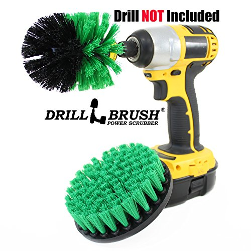 Shower-Tub-and-Tile-Powered-Scrubber-Nylon-Brush-in-Green-with-Quarter-Inch-Quick-Change-Shaft-0