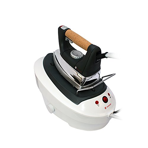 Singer-SHG2026B-Ultimate-Finish-Reservoir-Tank-1750-watt-Steam-Iron-with-Brushed-Stainless-Steel-Soleplate-Cork-Handle-and-Auto-Off-0-0
