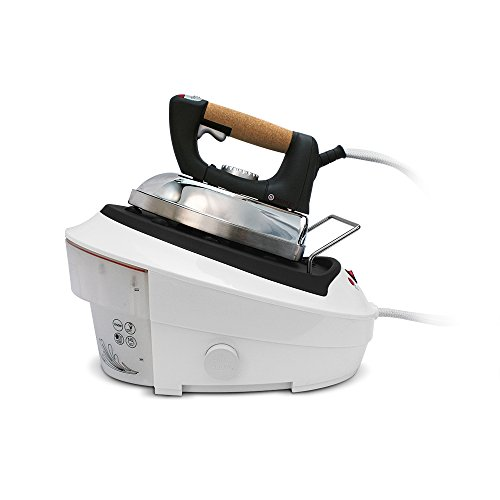 Singer-SHG2026B-Ultimate-Finish-Reservoir-Tank-1750-watt-Steam-Iron-with-Brushed-Stainless-Steel-Soleplate-Cork-Handle-and-Auto-Off-0