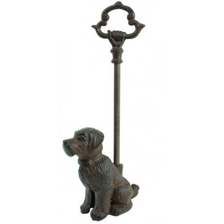 Sitting-Dog-Door-Stop-Porter-with-Handle-Rustic-Cast-Iron-16-inch-0
