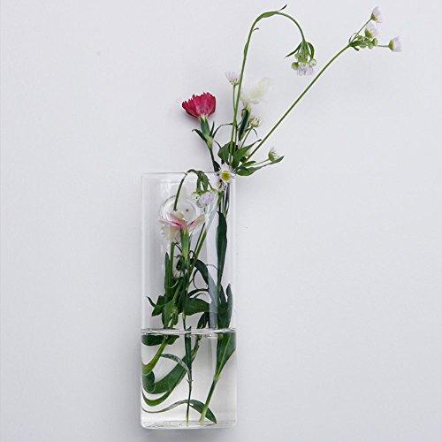 Siyaglass-Pack-of-4-Crystal-Glass-Wall-Hanging-Flower-Vase-Planter-Terrarium-Container-Flower-Pot-0-0