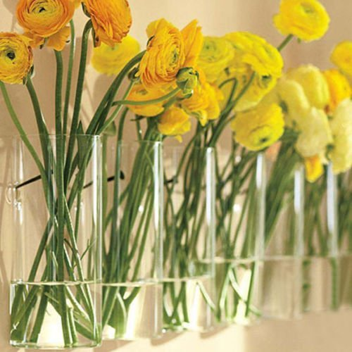 Siyaglass-Pack-of-4-Crystal-Glass-Wall-Hanging-Flower-Vase-Planter-Terrarium-Container-Flower-Pot-0