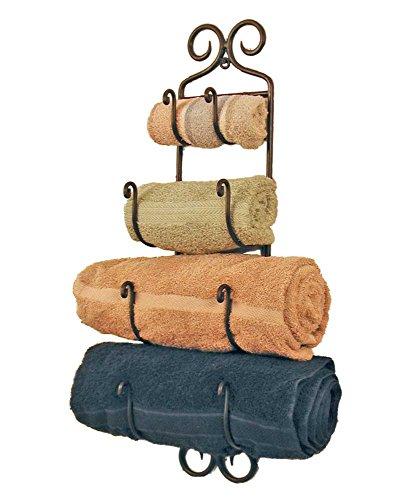 Small-Adirondack-Towel-Rack-Black-Wrought-Iron-0