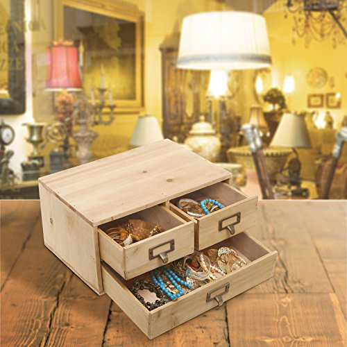 Small-Country-Rustic-Wood-Office-Storage-Cabinet-Jewelry-Organizer-w-3-Drawers-MyGift-0-1