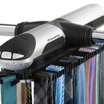 Smartek-ST-800-Motorized-Tie-Rack-Closet-Organizer-with-Built-in-LED-Light-Fits-More-than-70-Ties-Belts-Rack-Makes-a-Great-Gift-0-0