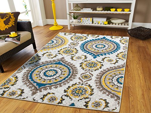 Soft-Rugs-For-Bedrooms-Cheap-Rug-Sets-Rugs-For-Living-Room-10-x-13-Clearance-Rugs-For-Living-Room-8×10-5×8-rugs-Turquoise-Rugs-Modern-Flowers-0