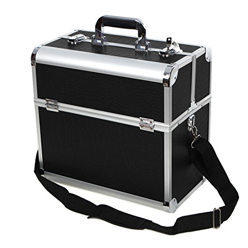 Songmics-Aluminum-Beauty-Makeup-Train-Case-Lockable-Cosmetic-Box-Jewelry-Storage-Organizer-0