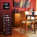 Sorbus-Wine-Rack-Stand-Bordeaux-Chateau-Style-Holds-23-Bottles-of-Your-Favorite-Wine-Elegant-Looking-French-Style-Wine-Rack-to-Compliment-Any-Space-No-Assembly-Required-0-1