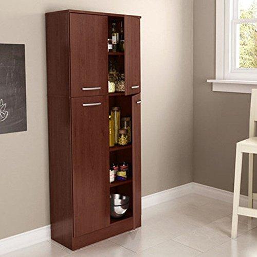 South-Shore-Axess-4-Door-Storage-Pantry-Morgan-Cherry-0