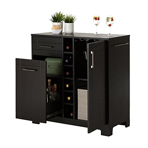 South-Shore-Vietti-Bar-Cabinet-with-Bottle-and-Glass-Storage-Black-Oak-0-1