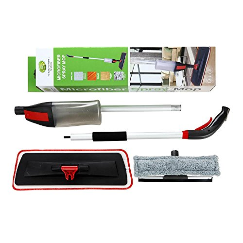 Spray-Mop-Kit-MrCleann-House-Cleaning-Set-Includes-2-Microfibre-pads-for-Hardwood-Ceramic-Vinyl-floors-and-2-for-Windows-0