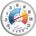 Springfield-Outdoor-Thermometer-with-Wind-Chill-Heat-Index-and-Hygrometer-1325-Inch-0