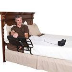Stander-EZ-Adjust-Pivoting-Adult-Home-Bed-Rail-3-pocket-organizer-pouch-Adjustable-in-Length-to-26-34-42-Included-Safety-Strap-Lifetime-Guarantee-0-1