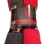 Star-Wars-The-Force-Awakens-Disney-2-Bath-Towel-Set-Each-is-28-by-51-inches-Red-and-Blue-0