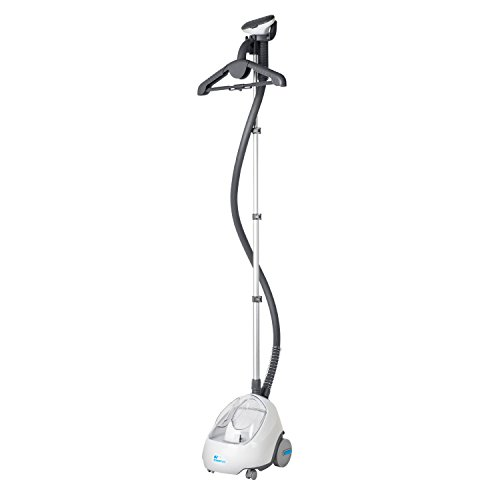 Steamfast-SF-520-Fabric-Steamer-with-Insulated-Hose-and-Clothes-Hanger-0