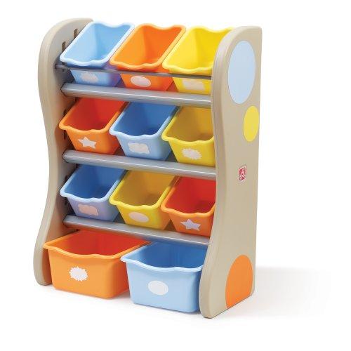 Step2-Fun-Time-Room-Organizer-Bins-Tropical-0